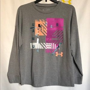Girls Under Armour Graphic Tee